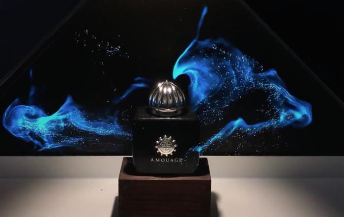 Photo d'un Hologramme du Parfum Amouage