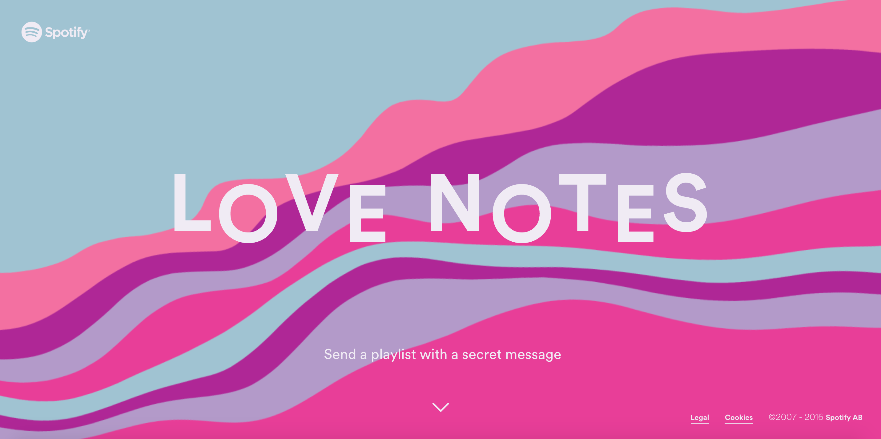 Image du site Love Notes