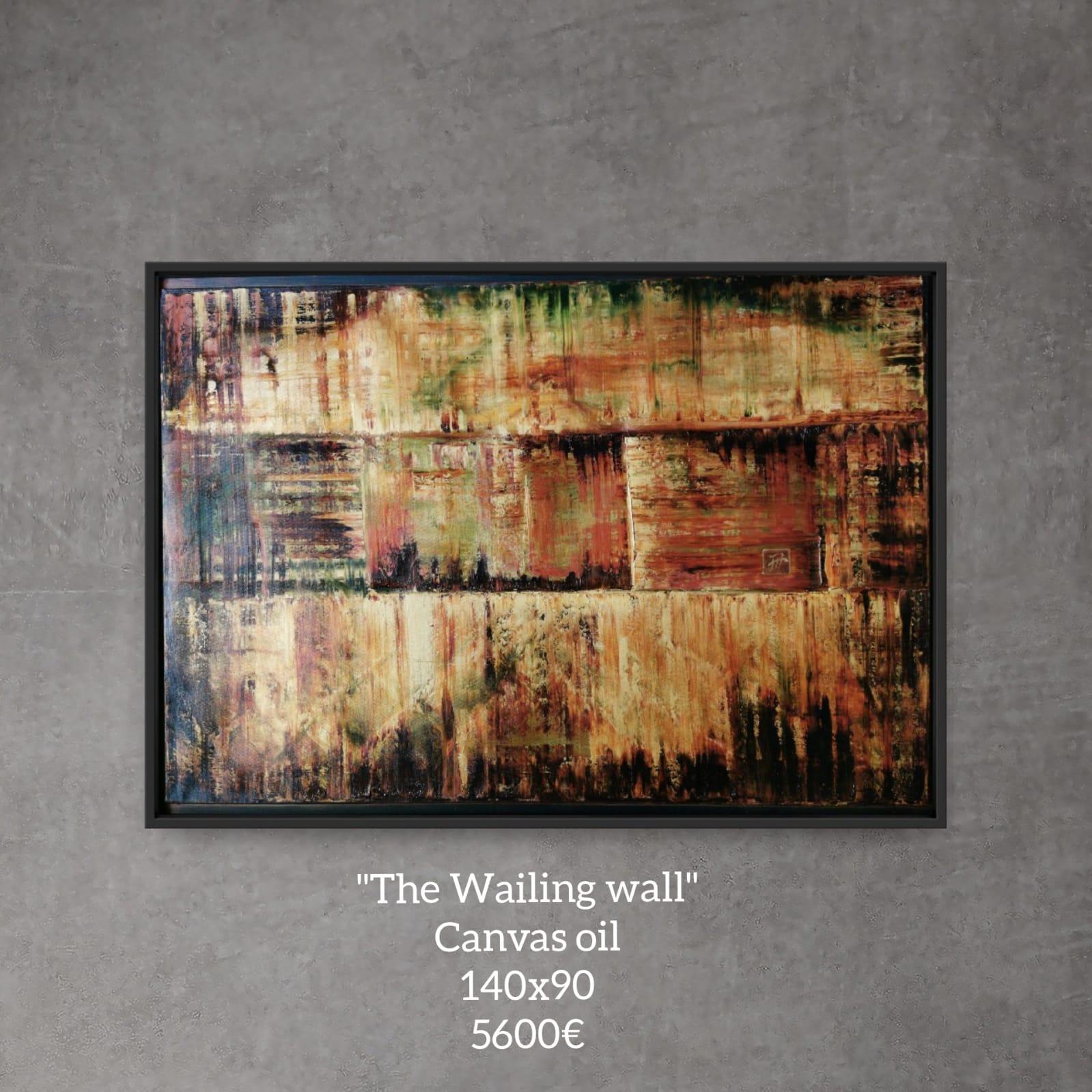 The Wailing Wall Painting