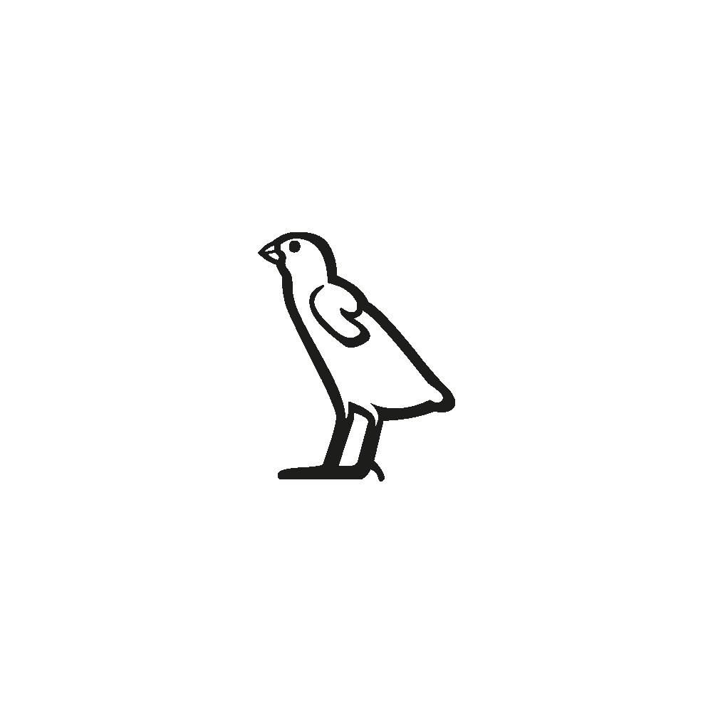 Hiéroglyphe G43